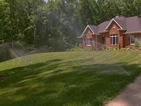 watering  lawn zones   basics diy