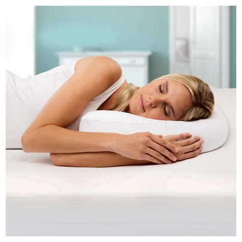 Side Sleeper Air by Side Sleeper Pro Air Therapeutic Neck Back Pillow New Ebay