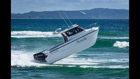 boat r noosa noosa cat 2400 with df175ap suzuki outboards youtube