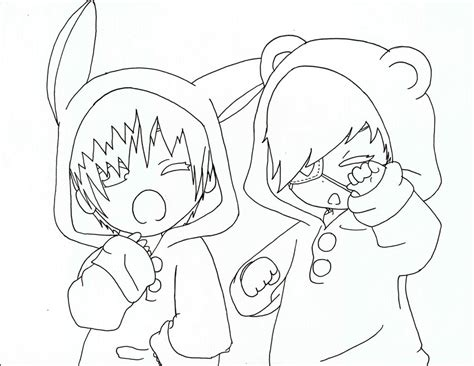 chibi couple coloring pages anime couple sleeping coloring coloring pages