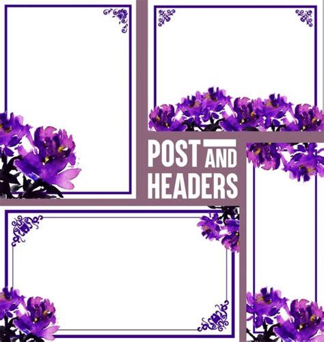bunga ungu vektor