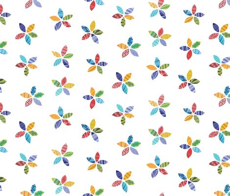 flower doodle fabric doodle flowers on white fabric anniemcbridedesign