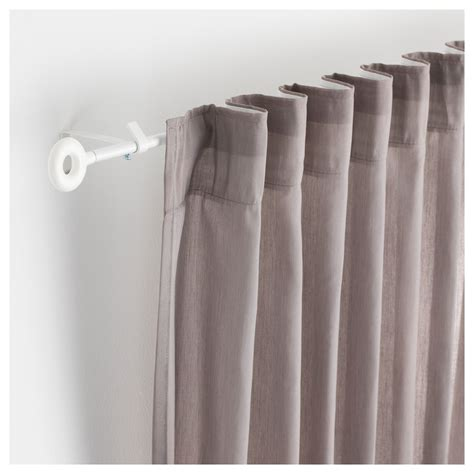 curtain rods ikea irja curtain rod set white 140 cm ikea