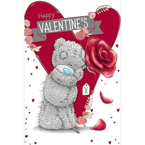 happy valentines day bears happy valentines day me to you card v01mn067 me