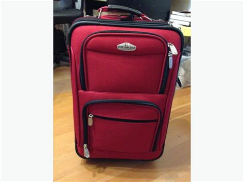 gorgeous red suitcases red suitcases ricardo beverly hills carry on size red