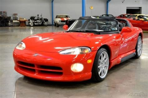 best car repair manuals 1994 dodge viper rt 10 user handbook 1994 dodge viper rt 10 8l v10 manual 4k miles roof and side windows 94 gen 1 for sale photos