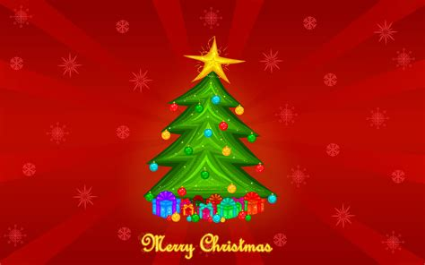 merry christmas tree wallpaper 231583