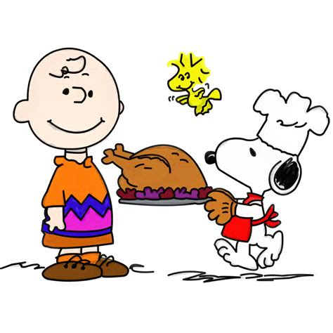 snoopy clipart peanuts thanksgiving clipart clipartxtras