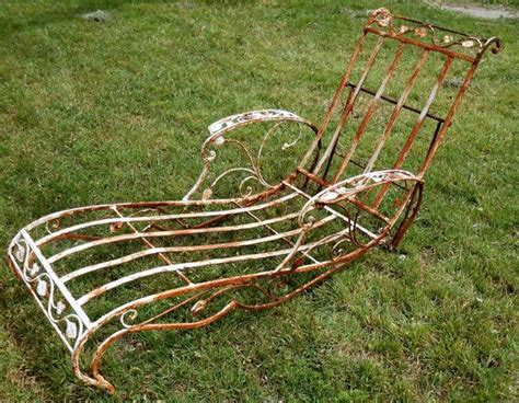 cast iron lounge chairs 45 best images about vintage iron patio on