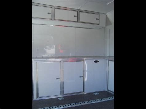 enclosed trailer cabinet ideas related keywords enclosed