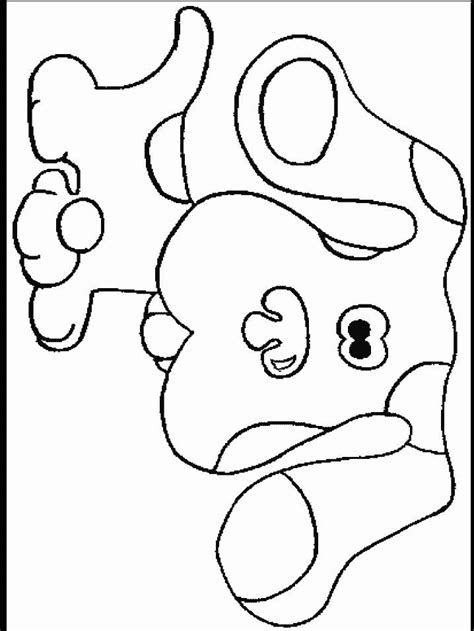 coloring pages blue picture 1