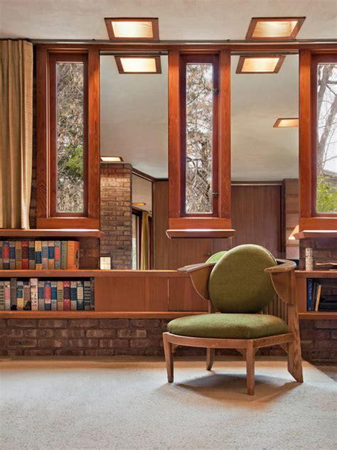 beautiful  cozy kenneth laurent house  frank lloyd