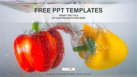Free Food Powerpoint Templates Design Powerpoint Food Templates