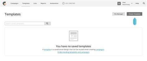 mailchimp create template from caign using mailchimp email design reference