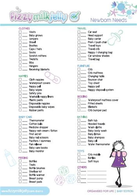 What Do You Need For A Baby Shower by The Newborn Needs List Gives You The List Of Things You