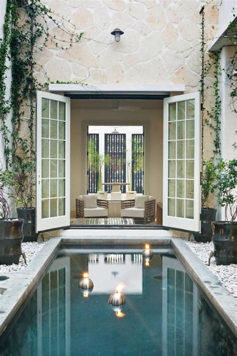 florida house plans with courtyard pool 59 best casita images on pinterest cottages landscaping