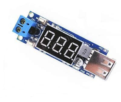 New Dc Step 5v 2a Voltmeter ᐂdc 4 5 40v to 5v 5v 2a usb charger dc dc step buck