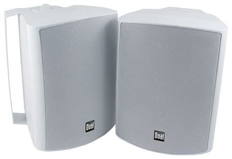 Speaker Indoor dual 3 way indoor outdoor speakers pair white lu53pw best buy