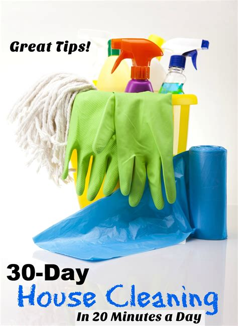 how to clean your house in a day how to clean your house in 20 minutes a day for 30 days