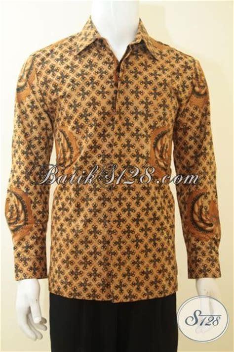 Dress Batik Tulis Halus Coklat Klasik baju busana batik klasik warna coklat mewah dan berkelas pakaian batik furing proses