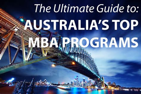 Mba Length Australia by The Best Mba Programs In Australia 187 Touch Mba