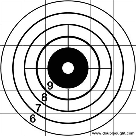 printable rifle targets targets