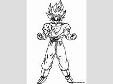 Imágenes para colorear de Dragon Ball Z muy originales ... Y Coloring Pages
