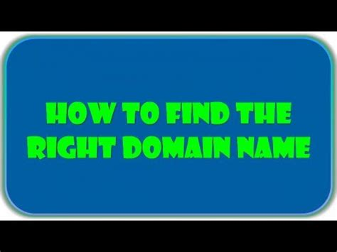 domain  search  rightly   tools youtube