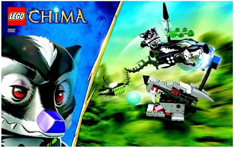 Lego 70107 Legends Of Chima Skunk Attack lego skunk attack 70107 legends of chima