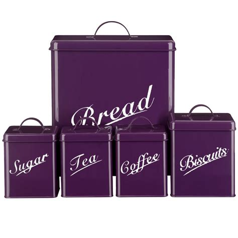 canisters astounding purple canister set kitchen canister