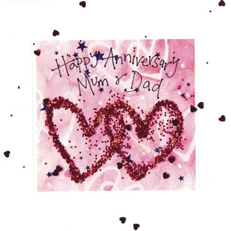 Wedding Anniversary To Parents by Anniversary Card Designs For Parents