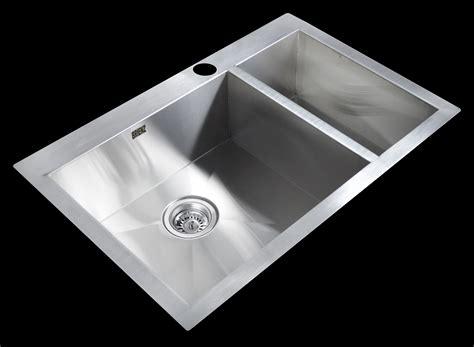 Handmade Sinks - buy 745x505mm handmade stainless steel topmount kitchen