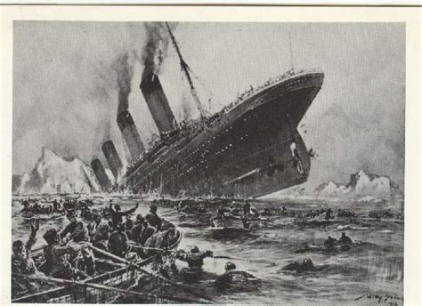 the sinking of the titanic 1912 the sinking of the titanic 1912 painting by willy stoewer