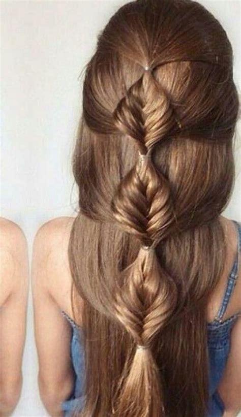 foto de peinado con pelo mediano peinados para cabello lacio largo suelto y f 225 ciles de