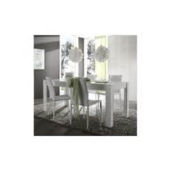salle 224 manger design compl 232 te laqu 233 blanc brillant