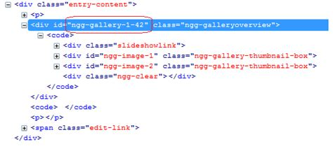 div id how to make compatible nextgen gallery with aws plugin