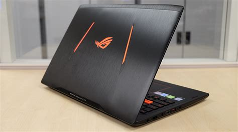 Laptop Asus Rog Gl502vm asus rog strix gl502vm 15 6 inch gaming notebook shootout hitting the sweet spot