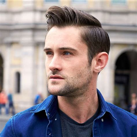 best hair style for a 46yr mens hair part side part hairstyles for men how to get