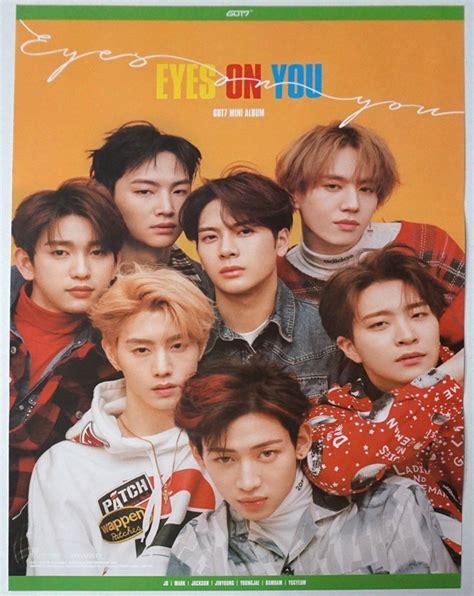 got7 eyes on you poster got7 eyes on you poster on ver