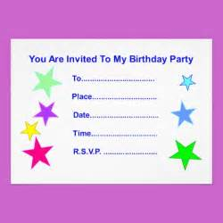 happy birthday with invitation card gift shop