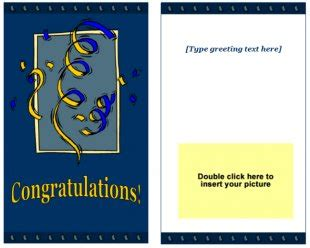 congrats card template free blank greeting cards templates for word greeting