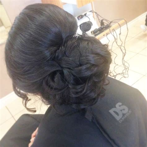 Bridal Hairstyles For Thick Hair by 17 Best Ideas About Thick Hair Updo On Simple