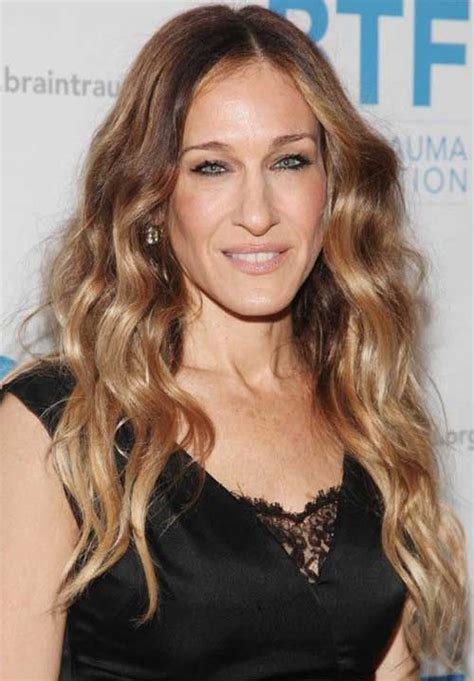 ombre hair over 50 30 long hairstyles for women over 40