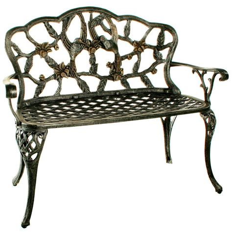 outdoor benches home depot oakland living american pride patio bench 6148 hb the home depot