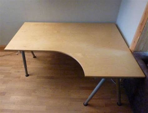 Ikea Galant Desks Computer Furniture Ebay Galant Corner Desk Right