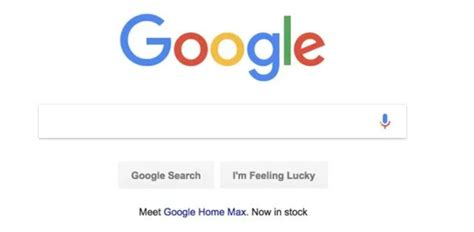 Max Search Briefly Advertises Home Max On Its Search Home Page Gadgets F