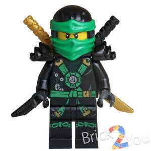 Lego ninjago lloyd minifigue w weapons split from 70738 njo167 ebay
