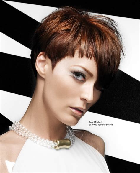 short hairstyles with fringe sideburns short hairstyle with an asymmetrical fringe and blunt side