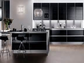 modern kitchen with brown color d s furniture