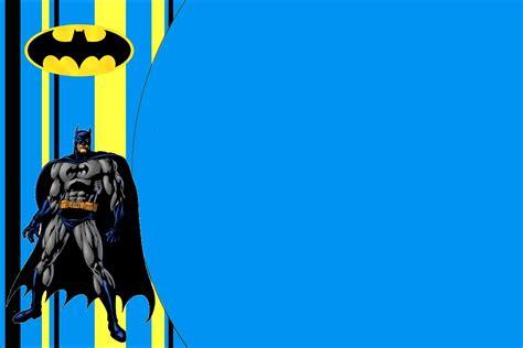 Batman Free  Ee  Printable Ee    Ee  Invitations Ee   Oh Fiesta In English